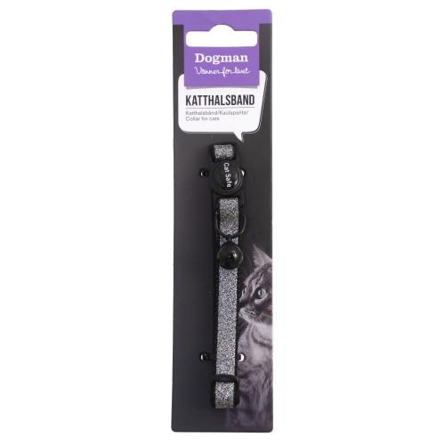 DOGMAN Katthalsband Glitter (5-pack)