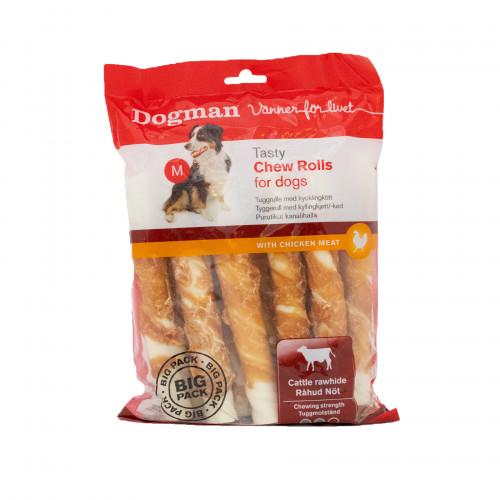 DOGMAN Chew Rolls 10-pack (4-pack)