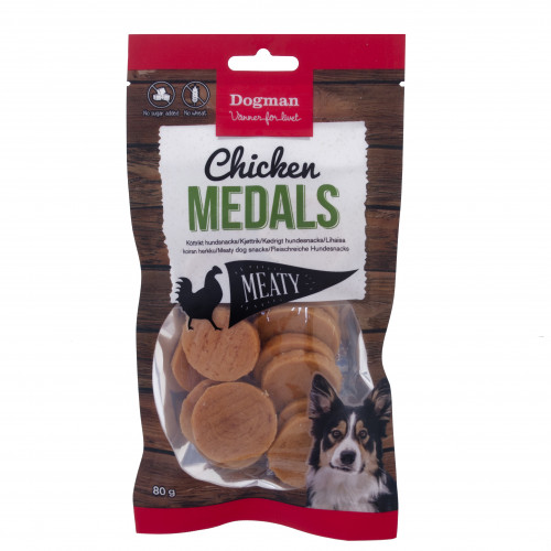 DOGMAN Chicken Medals (7-pack)