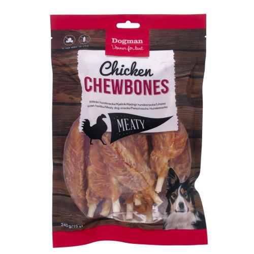 DOGMAN Chicken Chewbonew 12st (5-pack)