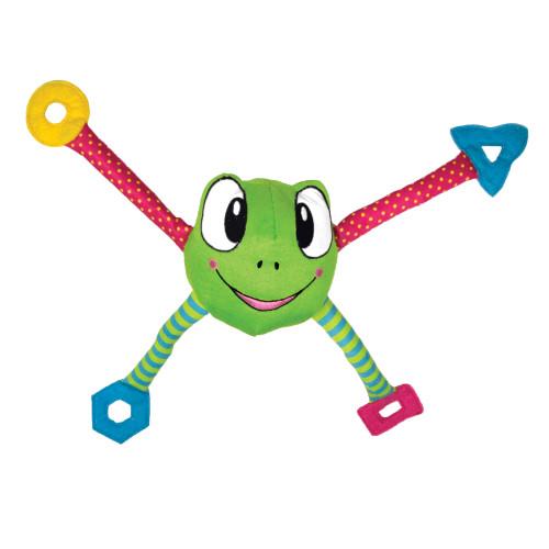 KONG Pouncearoo Frog (3-pack)