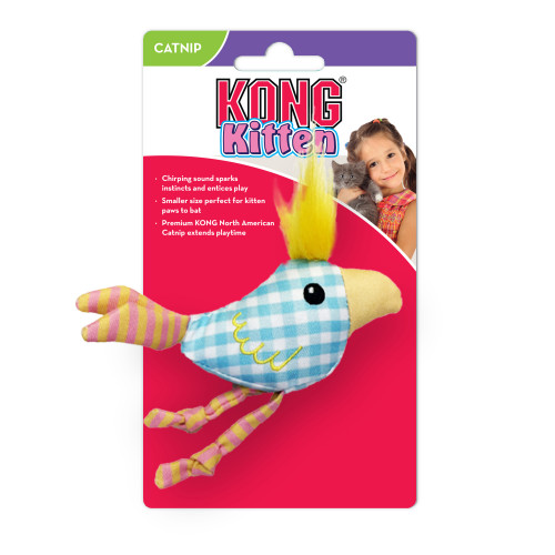 KONG Kitten Chirpz Chick (2-pack)