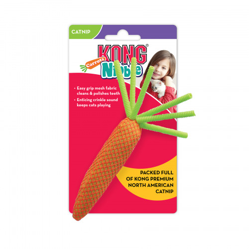 KONG Nibble Carrot (3-pack)