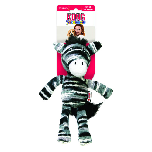 KONG Yarnimals Zebra (4-pack)
