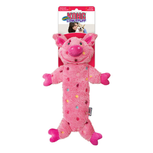 KONG Low stuff speckles Pig (4-pack)