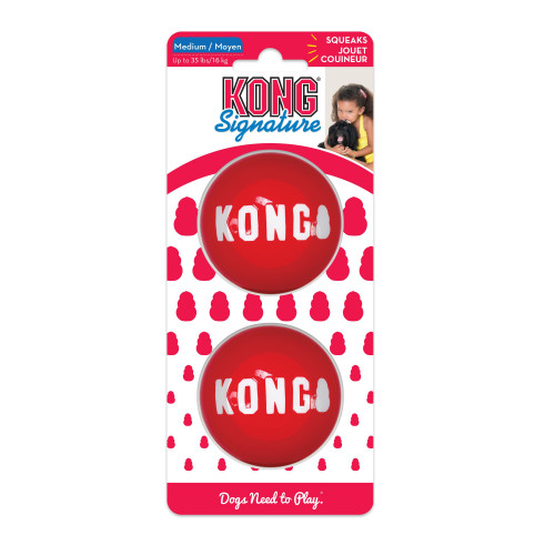 KONG Signature balls (3-pack)