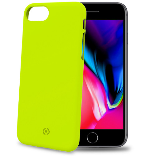 Celly Shock Cover iPhone 8/7 Gul