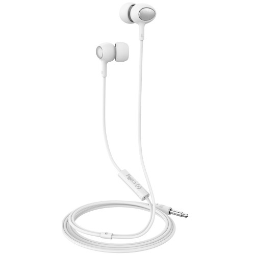 Celly UP500 Stereoheadset In-ear Vit