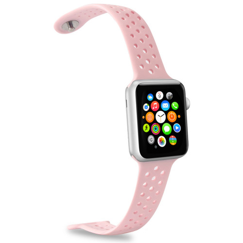 Celly Apple Watch Silicone band Rosa
