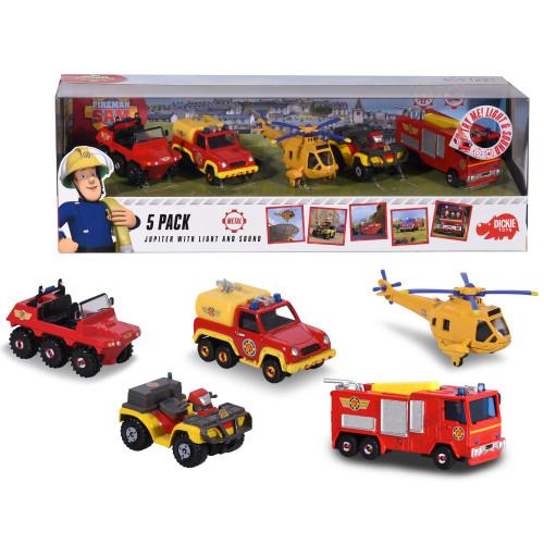 Brandman Sam FiremanSam 5 Pack