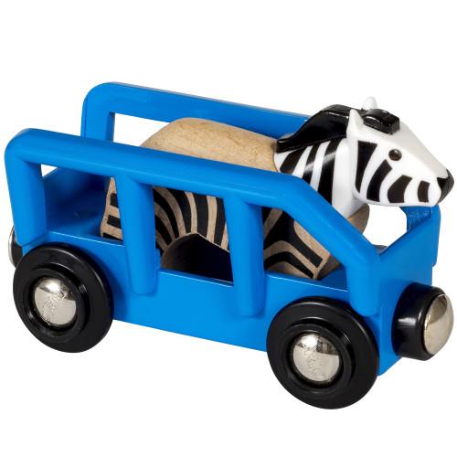 Brio 33967 Zebra and Wagon