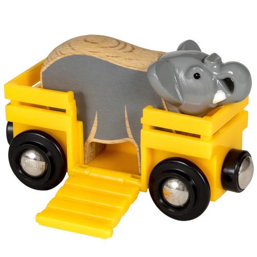 Brio 33969 Elephant and Wagon