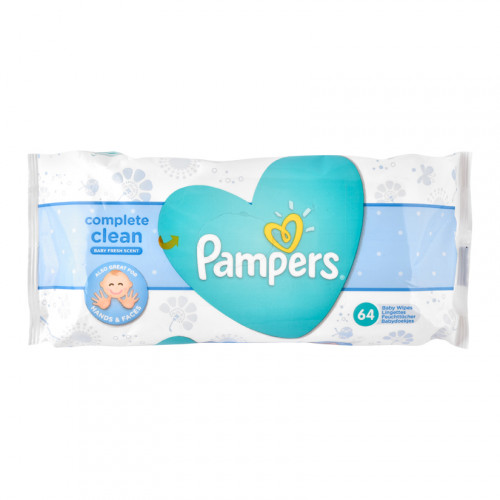 Pampers Baby Wipes Complete Care Scented
