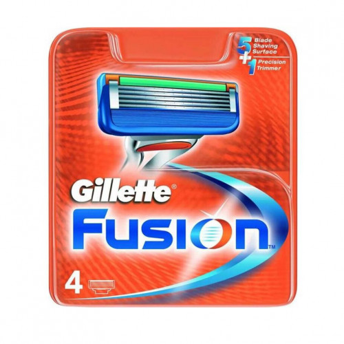 Gillette  Fusion Blades 4-pack