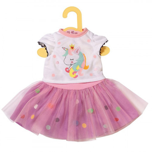 BABY Born Dolly Moda Unicorn Shirt 43cm