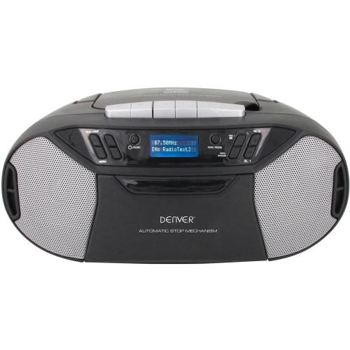 Denver Boombox med FM/CD/KASSETT/AUX