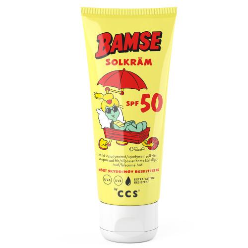 CCS Bamse Solkräm SPF 50