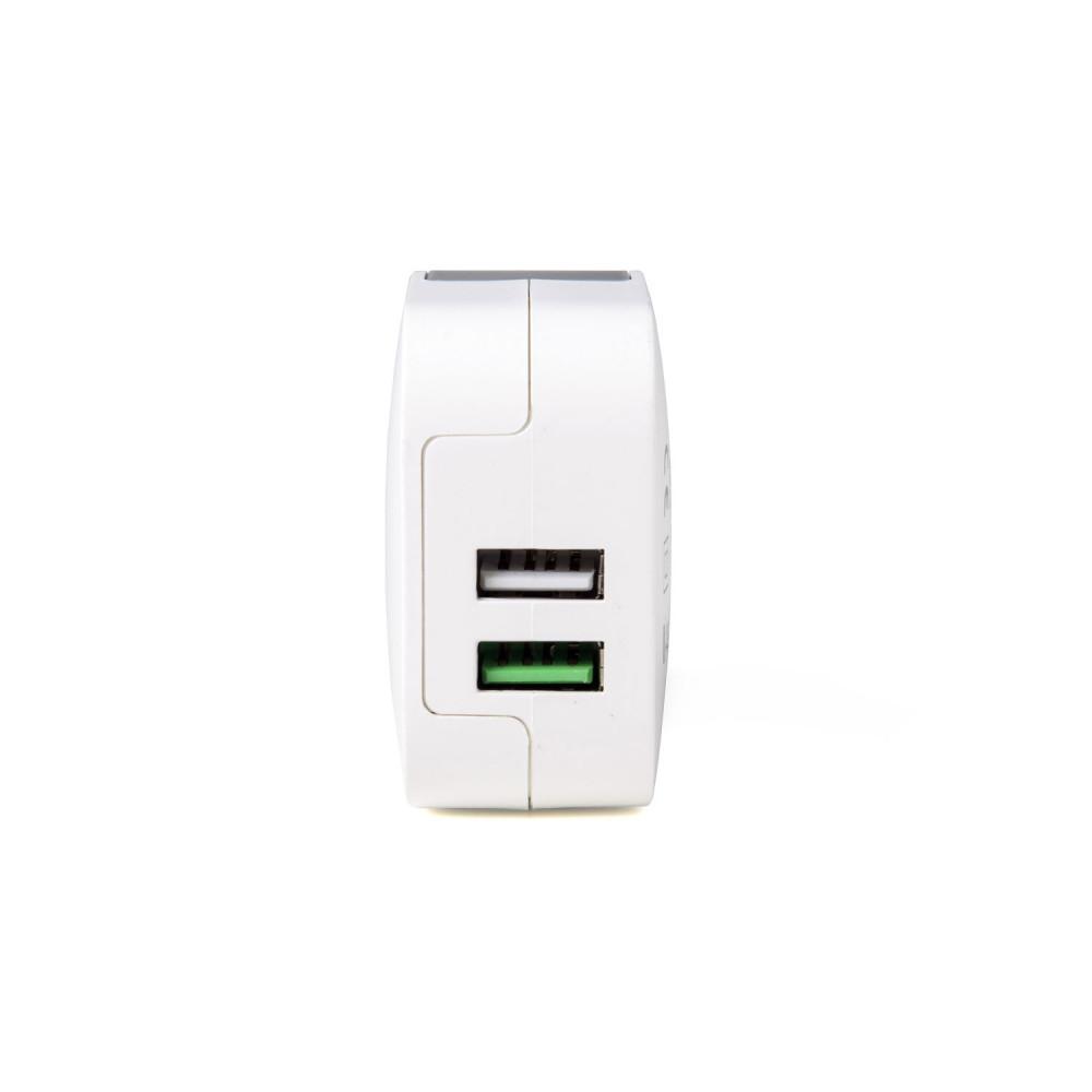 Celly USB laddare 2xUSB 3,4A (17W)