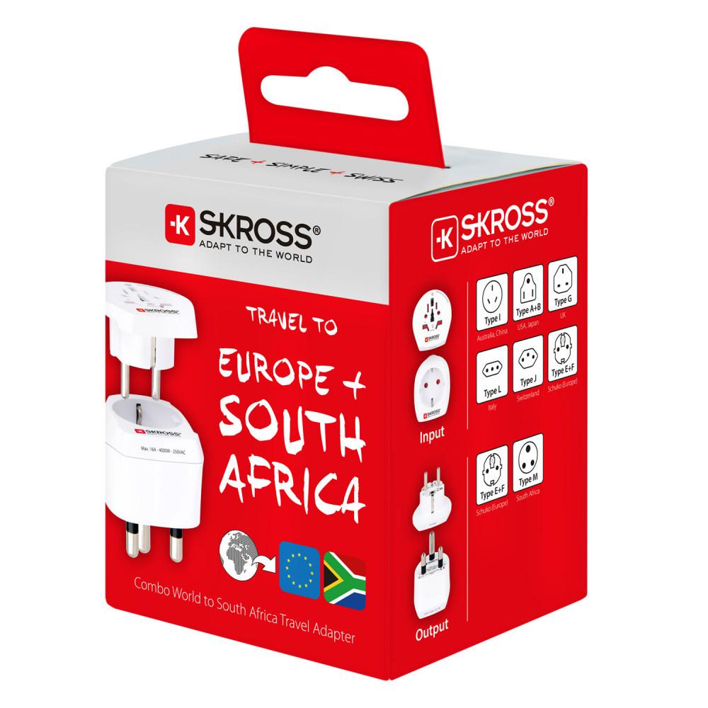 Köp SKROSS El Adapter SydafrikaEuropa på buyersclub.se