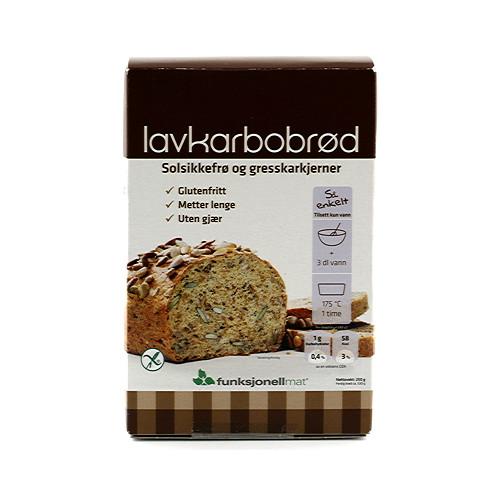Funksjonell Mat LCHF-bröd Mix 250g
