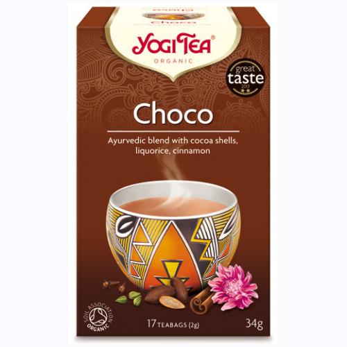 Yogi Tea Choco Te 17p KRAV EKO