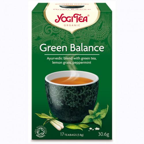 Yogi Tea Green Balance Te 17p KRAV EKO