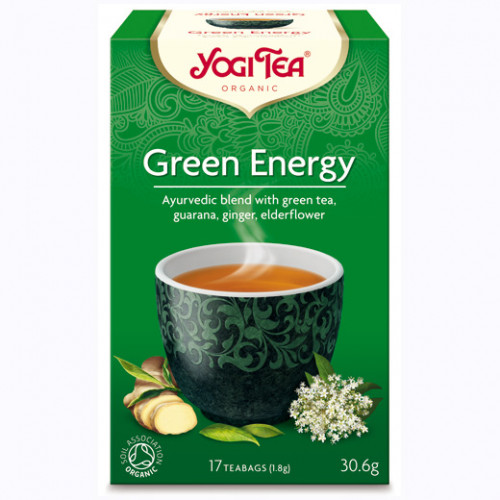Yogi Tea Green Energy Te 17p KRAV EKO
