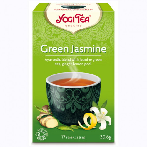 Yogi Tea Green Jasmine Te 17p KRAV EKO