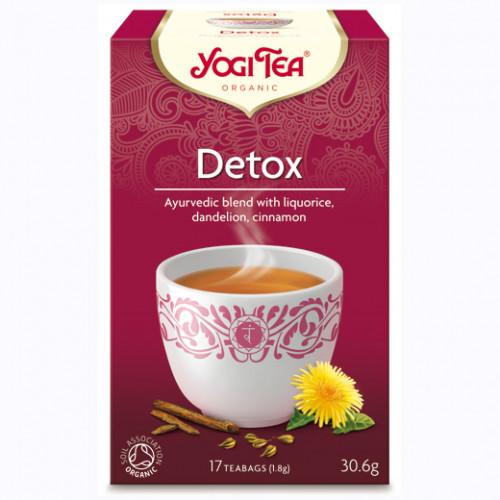 Yogi Tea Detox Te 17p KRAV EKO
