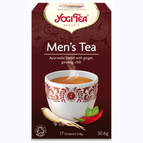 Yogi Tea Men's Tea 17p KRAV EKO