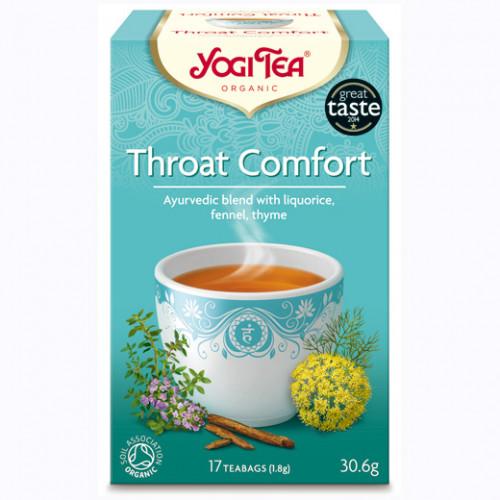 Yogi Tea Throat Comfort Te 17p KRAV EKO