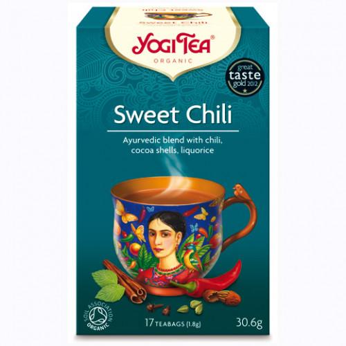Yogi Tea Sweet Chili Te 17p KRAV EKO