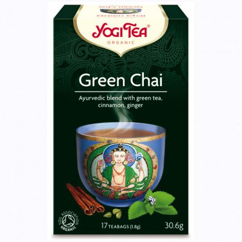Yogi Tea Green Chai Te 17p KRAV EKO