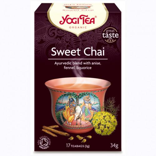 Yogi Tea Sweet Chai Te 17p KRAV EKO