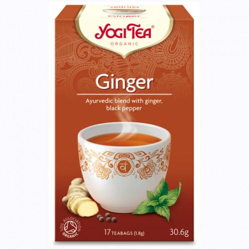 Yogi Tea Ginger Te 17p KRAV EKO