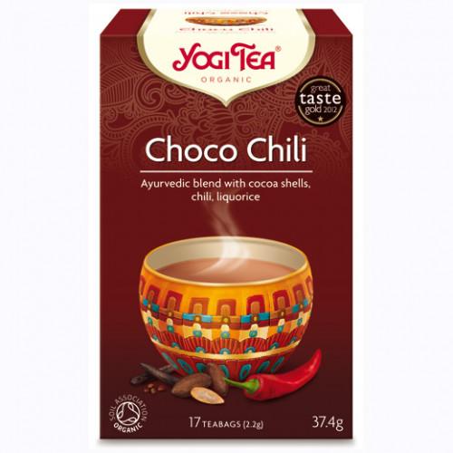 Yogi Tea Choco Chili Te 17p KRAV EKO