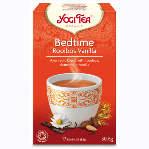 Yogi Tea Bed Time Rooibos Te Vanilla 17p KRAV EKO