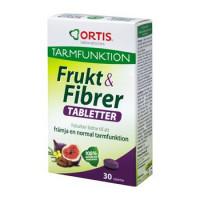 Ortis Frukt & Fibrer 30t