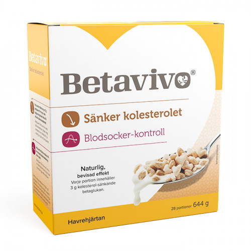 Betavivo Betavivo Hjärtan 644g (28 dygnsportioner)