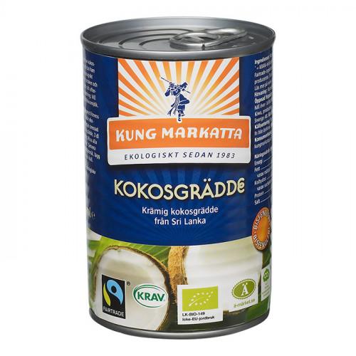 Kung Markatta Kokosgrädde 400ml EKO