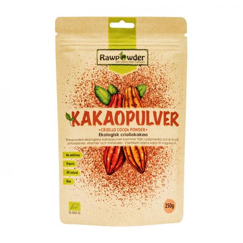 Rawpowder Kakaopulver Criollo 250g EKO