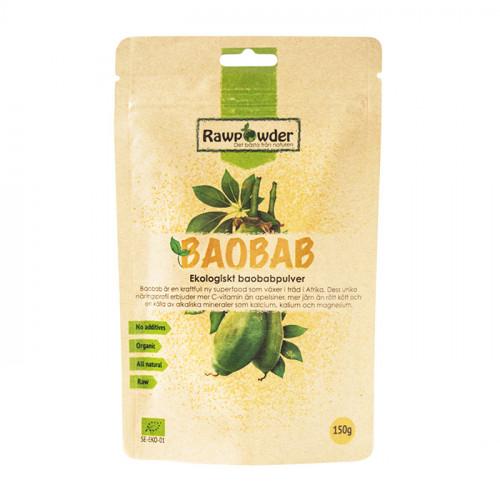 Rawpowder Baobabpulver 150g EKO