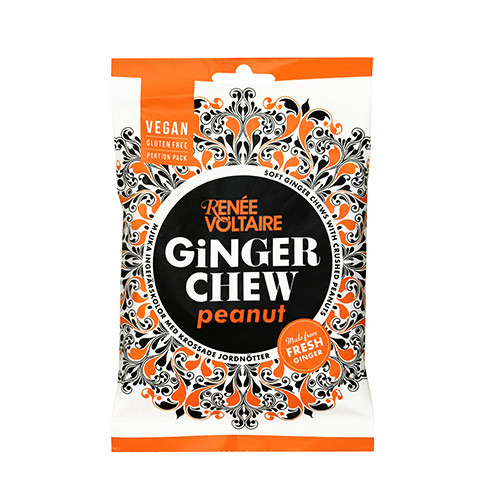 Renée Voltaire Ginger Chew Peanut 120g