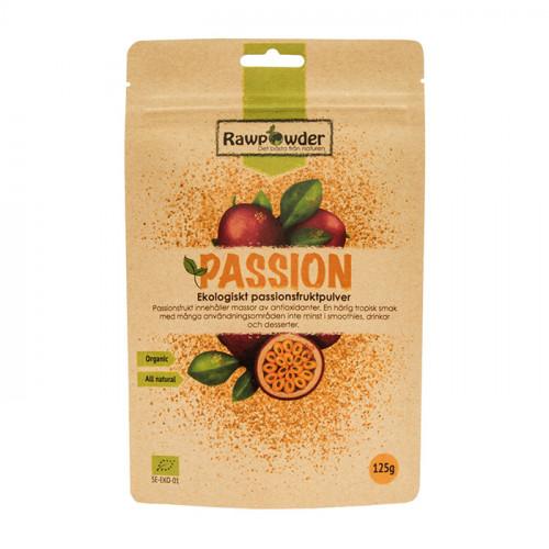 Rawpowder Passionfruktpulver Frystorkad 125g EKO