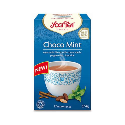 Yogi Tea Yogi tea Choco mint 17p KRAV