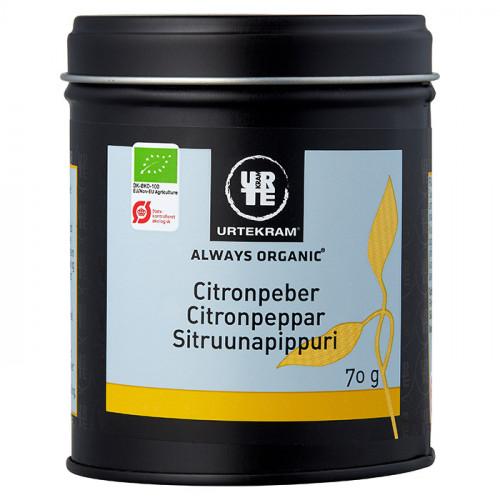 Urtekram Citronpeppar Kryddor 70g EKO