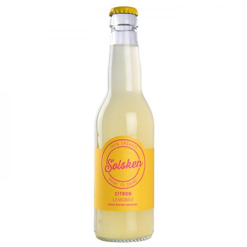 Solsken Solsken Ekologisk Lemonad Citron 33cl