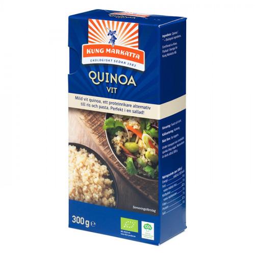 Kung Markatta Vit Quinoa i kartong 300g EKO