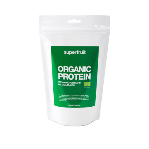 Superfruit Organic Protein Powder Natural 400g EU Organic