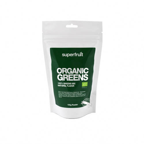 Superfruit Organic Greens Powder 100g EU Organic